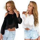 Fashion Summer Women Ladies Tops Blouse Long Sleeve Casual Loose Top T-Shirt New