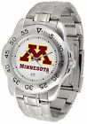 Minnesota Gophers Sport Watch Steel Band White Dial Ladies or Mens