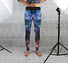 Galaxy 2 Design Womens Spandex Leggings Gym Yoga Fashion Fitness Made In Uk