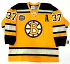 PATRICE BERGERON 2010 WINTER CLASSIC CCM VINTAGE BOSTON BRUINS JERSEY NEW