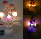 Romantic Colorful LED Mushroom Night Light DreamBed Lamp Home Illumination