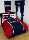 Atlanta Braves Comforter Sham and Bedskirt Twin Full Queen King Size