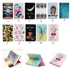 Cartoon Painting Flip Stand PU Leather Cover Case For Samsung Galaxy Tab 46