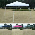 US SHIP 10'X10' EZ POP UP Tent Gazebo Wedding Party Canopy Shelter Carry Bag