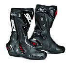SIDI ST AIR BLACK HINGED MOTORCYCLE SPORTS BIKE BOOTS SUITABLE FOR RACING
