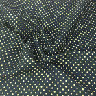 AIRFORCE BLUE colour POLKA DOT 100% cotton fabric  per FQ, half metre or metre