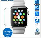 Leather Strap Cuff Bracelet  Watch Bands For Apple Watch+screen protector 38mm