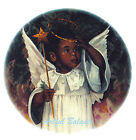 Ceramic Decals African American Adorable Little Angel Girl image