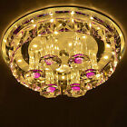 NEW 12W Crystal LED Ceiling Light Pendant Lamp Fixture Lighting Chandelier w07U