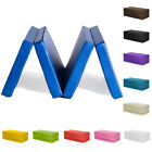 "Fun!ture Folding Large 8ft Soft Play Gym Mat Exercise Yoga 4"" Foam PVC Gymnastic"