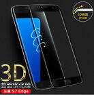 Tempered Glass 9H Screen Protector For Samsung Galaxy S7/S7 Edge 3D Curved