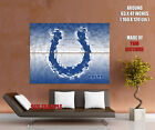 Indianapolis Colts Logo NFL Gigantic Print POSTER