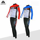 SOBIKE Cycling Sports Suits Long Jersey Long Sleeve & Tights Pants Blue Red