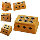 Moxa Stick Roll Holder Healing Therapy Bamboo Mild Moxibustion Box