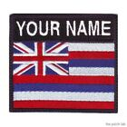 HAWAII BADGE CUSTOM FLAG EMBROIDERED PATCH