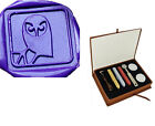 Lovely Owl Branch Custom Picture Wedding Invitation Wax Seal Stamp Gift Box Set