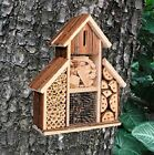 ✔Fix On Wooden Insect Hotel Nest Home Bee Keeping Bug Garden Ladybird Box 2630 ✔