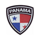 PANAMA CREST FLAG EMBROIDERED PATCH