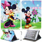 """For Vodafone Smart Tab 7"""" 8"""" 9.6"""" 10.1""""Tablet Mickey PU Leather Stand Case Cover"""