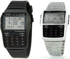 Casio Men's 25-Page Databank 8-Digit Calculator with LED Light Watch DBC32