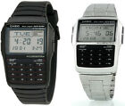 Casio Men's 25-Page Databank 8-Digit Calculator with LED Light Watch DBC32 image