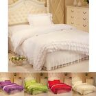 Lace Princess Single Double King Size Bedding Quilt Cover Duvet Cover Set