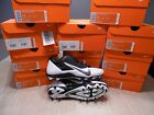 Nike 579545-001 Alpha Pro TD Football Cleats -White/Black- NEW IN BOX $90 Retail
