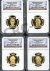 2010 S PRESIDENTIAL DOLLAR SET NGC PF70 ULTRA CAMEO