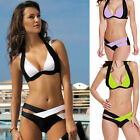 Sexy Womens Bandage Bikini Set Push-up Padded Bra Bathing Suit Swimsuit Swimwear