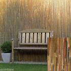 2m tall x 3m long split bamboo screening - for gardens, windbreaks, balconies