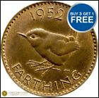 1937 to 1956 Elizabeth and George VI Bronze Farthing Choice of Date