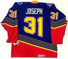 CURTIS JOSEPH ST LOUIS BLUES 1995 CCM VINTAGE BLUE JERSEY NEW WITH TAGS