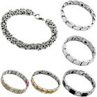 Unisex Mens Steel Magnetic Chain Therapy Bracelets Wristband Bangle Cuff Gift 1x