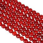 4 Sizes Natural Gemstone Faceted Red Onyx Spacer Loose Beads for Jewelry Making