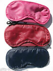 TRAVEL EYE MASK SLEEPING EYE SHADE BLINDFOLD EYEPATCH CHOOSE COLOUR BRAND NEW