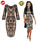 Summer Women Leopard 3/4 Sleeve Casual Evening Cocktail Party Sexy Mini Dress