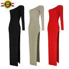 Sexy Women One Shoulder Bodycon Casual Party Evening Cocktail Vintage Dress S62