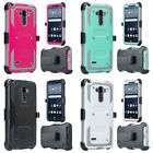 Tactical Holster Combo Stand Cover Hybrid Phone Case LG G Vista 2 LS770 G Stylo