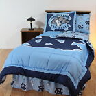 North Carolina Tar Heels Comforter Sham & Blanket Twin Full Queen King Size CC