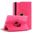 For Apple iPad Mini 2 3 4 iPad Air 360 Rotating Leather Smart Case Cover Stand