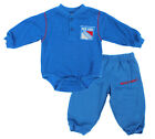 NHL Infant New York Rangers Creeper and Pants Set, Blue