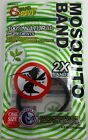 Bug Bam Twin Pack Wristbands - Insect, Mosquito Repellent, Natural Ingredients