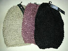 WOMEN'S CHUNKY TWIST KNIT WINTER BEANIE SKI HAT CAP GLOVE MITTENS HAT SET
