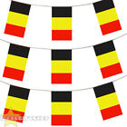 BELGIUM BUNTING 33,100,200,400FT LARGE DECORATION NATIONAL COUNTRY FLAG