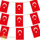 TURKEY BUNTING 33,100,200,400FT LARGE DECORATION NATIONAL COUNTRY FLAG
