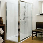 New Modern Square Shower Enclosure Side Panel Choose From 700mm-900mm