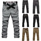 PODOM Herren Freizeithose Business Hose Chinohose Stoffhose Trousers Pants
