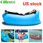 Lightweight Inflatable Bag Lounge Chair Sofa Bed Camping Hiking
