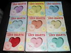 Choose your LOVE HEARTS Scented Candles - New