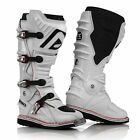 ACERBIS X MOVE 2.0 BOOTS WHITE HINGED MOTOCROSS MX ENDURO ATV QUAD CHEAP NEW
